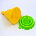 halpa Keittiötarvikkeet ja -laitteet-taitettava taitettava silikonisuppilo kotitalousöljy voi supistaa suurikokoista silikonia kaatavaa trumpetiviinisuppiloa