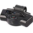 preiswerte Bluetooth Auto Kit/Freisprechanlage-Bluetooth-Auto-Kits eingebaute Batterie mp3-Player Lenkrad Freisprecheinrichtung tragbare Unterstützung a2dp Auto-Ladegerät