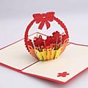 preiswerte Platzkarten & Kartenhalter-Hochzeits-Einladungen Seitlich gefaltet Einladungskarten für die Hochzeit Unpersonalisierte