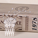 cheap Party Headpieces-Alloy Hair Combs 1 Wedding Special Occasion Casual Office & Career Outdoor Headpiece