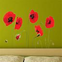billige Veggklistremerker-Landskap Blomster Botanisk Veggklistremerker Fly vægklistermærker Dekorative Mur Klistermærker, Vinyl Hjem Dekor Veggoverføringsbilde Vegg