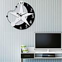 رخيصةأون ساعات جدران عصرية-الحديثة / المعاصرة خشب بلاستيك أخرى AA