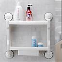 cheap Soap Dishes-Bathroom Shelf High Quality Contemporary Plastic 1 pc - Hotel bath Wall Mounted