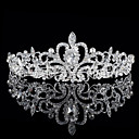 cheap Historical & Vintage Costumes-The Bride Crown Han Edition Shining Diamond Tiara Wedding Jewelry Hot Style Selling