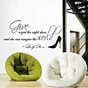 cheap Wedding Gifts-Words & Quotes Wall Stickers Plane Wall Stickers Decorative Wall Stickers, Vinyl Home Decoration Wall Decal Wall Decoration