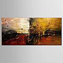 olcso Süllyesztett-Hang festett olajfestmény Kézzel festett - Csendélet Fantasy Modern Vászon