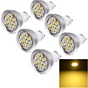 رخيصةأون سبوت لايتس LED-YouOKLight 6W 450-500 lm GU10 LED ضوء سبوت 15 الأضواء SMD 5630 ديكور أبيض دافئ أس 85-265V