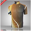 cheap Cycling Jerseys-GETMOVING Men's Short Sleeve Cycling Jersey - Yellow Bike Jersey, Quick Dry, Anatomic Design, Ultraviolet Resistant Polyester, Coolmax®
