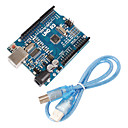 cheap Motherboards-Improved Version UNO R3 ATMEGA328P Board for Arduino Compatible