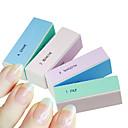 povoljno Rašpice i poliranje noktiju-1pcs 4 puta više boja nail art poliranje bloka brušenje datoteke
