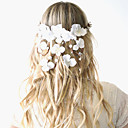 cheap Party Headpieces-Basketwork Wreaths 1 Wedding Special Occasion Outdoor Headpiece