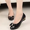 זול נעלים שטוחות לנשים-בגדי ריקוד נשים נעליים עור פטנט אביב / קיץ נוחות עקב נמוך פפיון סגול / ירוק / ורוד