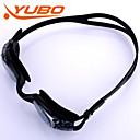 billige Swim Goggles-Svømmebriller Anti-Tåke Justerbar Størrelse Anti-UV Bruddsikker Anti-Skli Stropp Vanntett silica Gel PC Svart Lysegrå