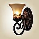 preiswerte Modische Halsketten-Ecolight™ Landhaus Stil Wandlampen Harz Wandleuchte 110-120V / 220-240V 60W