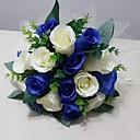 """זול פרחי חתונה-פרחי חתונה זרים חתונה / מסיבה\אירוע ערב מֶשִׁי 9.84""""(לערך.25ס""""מ)"""