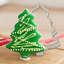 cheap Bakeware-Bakeware tools Stainless Steel Creative Kitchen Gadget / Christmas For Cookie / Cake / For Candy Cookie Cutters 1pc