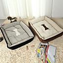 זול מיטות כלבים & שמיכות-מיטה לחיות מחמד צורת תיבה חמודה כותנה צבע רב לחתולים כלבים 50 * 38 * 15 סנטימטר / 20 * 15 * 6 אינץ '