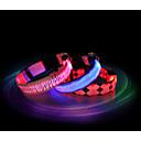 olcso Szerszám tartozékok-Cica Kutya Gallérok LED fények Vízálló Műanyag Piros Kék Rózsaszín