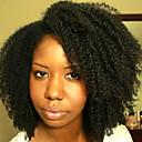 povoljno Perike s ljudskom kosom-Ljudska kosa Perika s prednjom čipkom bez ljepila Lace Front Perika stil Brazilska kosa Kinky Curly Perika 120% Gustoća kose s dječjom kosom Prirodna linija za kosu Afro-američka perika 100% rađeno