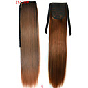 abordables Sans bonnet-Queue-de-cheval Cheveux Synthétiques Pièce de cheveux Extension des cheveux Droit / Droite