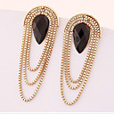 cheap Shoulder Bags-Women's Drop Earrings - Gold Plated Drop Statement Ladies Jewelry Screen Color For Wedding Masquerade Engagement Party Prom
