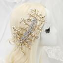 preiswerte Parykopfbedeckungen-imitation perle strass legierung stirnbänder kopfschmuck eleganten stil