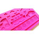 baratos Fones de Ouvido-Ferramentas bakeware Plástico Bolo Moldes de bolos 1pç