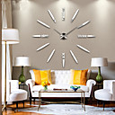 cheap DIY Wall Clocks-Modern/Contemporary Metal AA Clay & Dough Kits Wall Clock