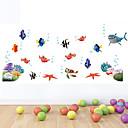 abordables Fundas de Almohada-Animales Romance De moda Formas Día Festivo Caricatura Fantasía Botánico Pegatinas de pared Calcomanías de Aviones para Pared Calcomanías