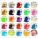 cheap Nail Glitter-24 pcs Acrylic Powder / Powder Abstract / Classic / Wedding Lovely Daily