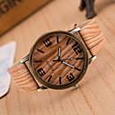abordables Relojes de Moda-Mujer Reloj de Pulsera Cuarzo Reloj Casual PU Banda Analógico Encanto Casual Moda Blanco / Marrón / Gris - # 3 # 4 # 5 Un año Vida de la Batería / Jinli 377