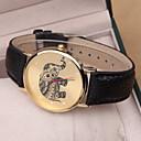 preiswerte Damenuhren-Damen damas Armbanduhr Quartz Armbanduhren für den Alltag PU Band Analog Charme Modisch Schwarz / Weiß / Rosa - Weiß Schwarz Rosa Ein Jahr Batterielebensdauer / SSUO 377