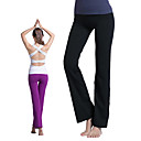 abordables Ropa de fitness, running y yoga-Mujer Pantalones de yoga - Blanco, Negro, Morado Deportes Moda Pantalones / Sobrepantalón Pilates, Ejercicio y Fitness Ropa de Deporte