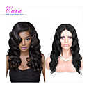 cheap Closure & Frontal-8 26 indian virgin hair body wave glueless lace wig lace front wig color natural black baby hair for black women