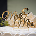 cheap Cake Toppers-Cake Topper Classic Theme Classic Couple Hard Plastic Wedding Anniversary Bridal Shower with 1 OPP