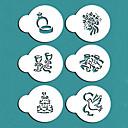 hesapli Çerez Araçları-Bakeware araçları Plastik Kendin-Yap Kek Pasta Kalıpları 1pc