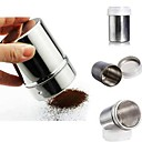 preiswerte Kaffee und Tee-Schokolade Pulver Kakao Mehl Shaker Puderzucker Cappuccino Kaffee Sichter Flasche