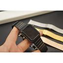 tanie Inteligentny zegarek Akcesoria-Watch Band na Apple Watch Series 3 / 2 / 1 jabłko Zapięcie motylkowe Metal Opaska na nadgarstek