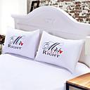 preiswerte Wand-Sticker-Gemütlich 2pcs Shams (nur 1pc Schein für Twin oder Single), Baumwolle/Polyester Baumwolle/Polyester 230TC Neuheit