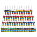 cheap Tattoo Needles-Solong Tattoo Inks 54 Colors Set 5ml/Bottle Tattoo Pigment Kit