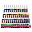 baratos Tinta para Tatuagem-Tintas solong tatuagem 54 cores set 5ml / bottle tattoo pigment kit