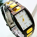 cheap Men's Sneakers-Men's Wrist Watch Casual Watch Stainless Steel Band Charm Black / TY 377A