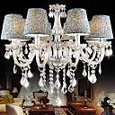 billige Lysekroner-8-Light Anheng Lys Opplys Krom Krystall Stof Krystall 110-120V / 220-240V Pære ikke Inkludert / E12 / E14