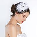 cheap Faucet Accessories-Silk Birdcage Veils Headpiece Wedding Party Elegant Feminine Style