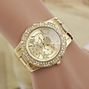 cheap Fashion Watches-yoonheel Women's Wrist Watch Designers / Imitation Diamond / Swiss Metal Band Charm / Fashion / Simulated Diamond Watch Gold / One Year / SODA AG4