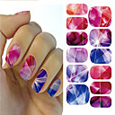 cheap LED Bi-pin Lights-1pcs 3D Nail Stickers Nail Jewelry nail art Manicure Pedicure Punk / Fashion Daily / PVC(PolyVinyl Chloride)