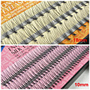 cheap Eyelashes-10mm false eyelashes extensions natural individual fake lash eyelash planting grafting eyelashes assorted color