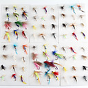 cheap Fishing Lures & Flies-72 pcs Flies Fishing Lures Flies Metal Fly Fishing