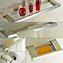 billige Garderobekroker-Tilbehørssett til badeværelset , Moderne Rustfritt stål Veggmontert