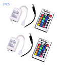 abordables Tiras de Luces LED-YouOKLight 12 V Interruptor Remoto ABS